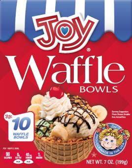 joy waffle bowl